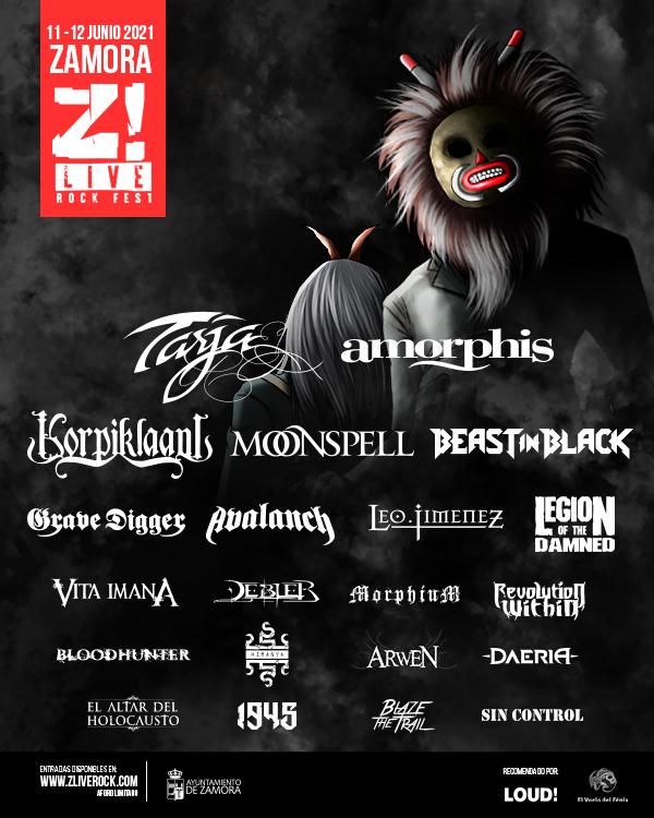 Z! Live Rock Fest 2021 cartel