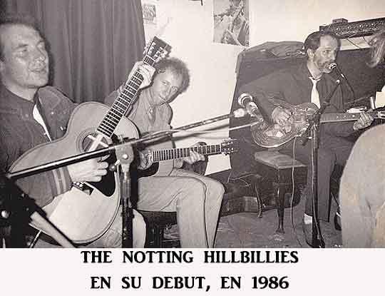 Notting Hillbillies debut