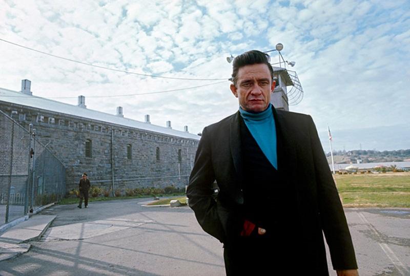Johnny Cash en la cárcel