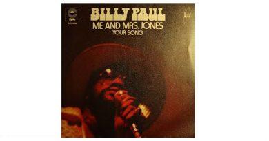 Billy Paul Me and Mrs Jones