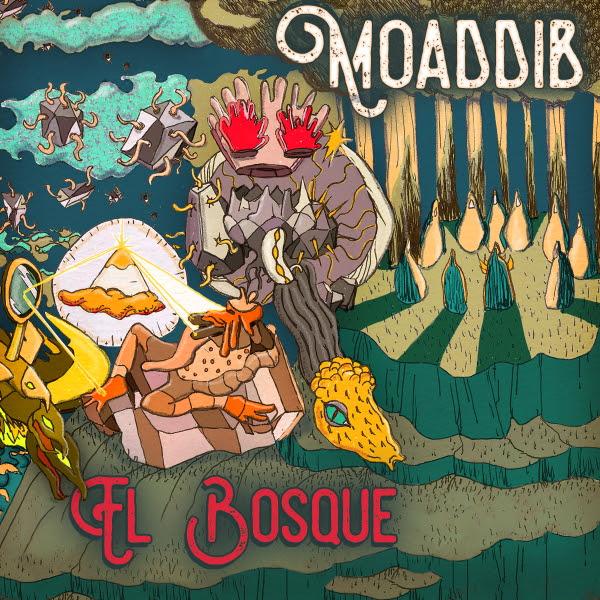 Moaddib portada El Bosque