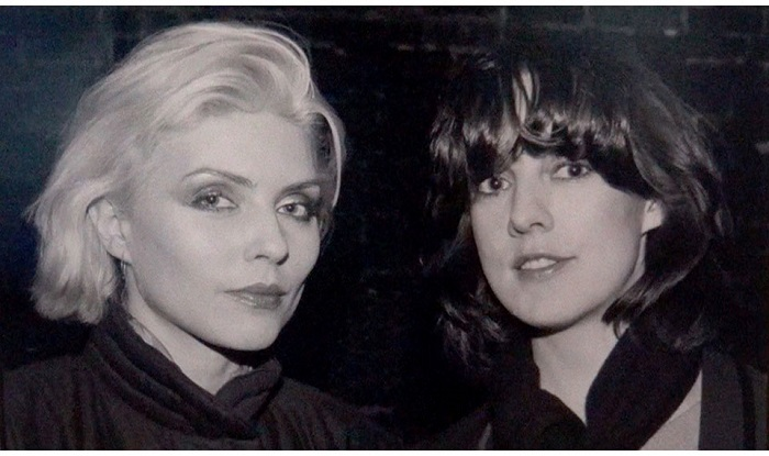 Debbie Harry y Roberta Bayley