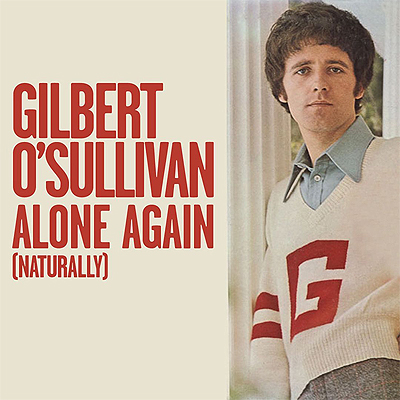 Gilbert O'Sullivan portada single