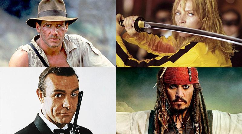 10 instrumentales de films de acción y aventuras