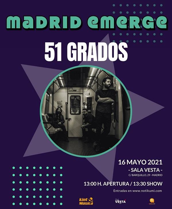 Madrid Emerge 51 Grados
