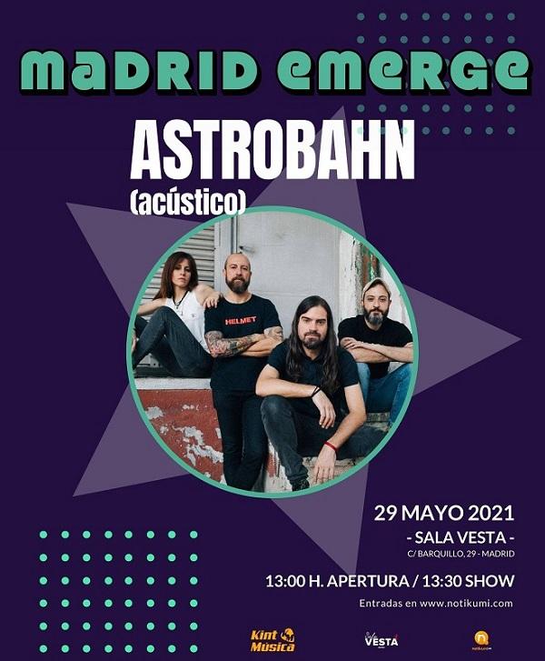Madrid Emerge Astrobahn