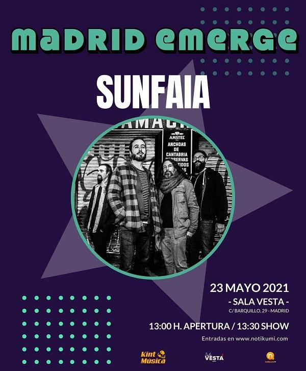Madrid Emerge Sunfaia
