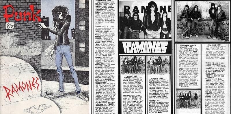 Punk Magazine Ramones