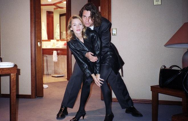 Hutchence Kylie Minogue foto