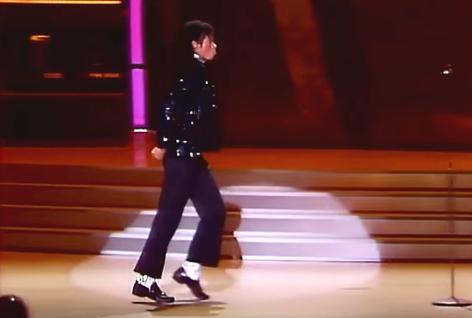 Michael Jackson Billie Jean Moonwalk