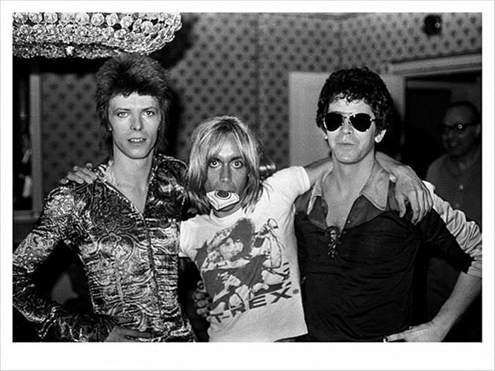 Mick Rock fotógrafo Queen Bowie Iggy Lou Reed