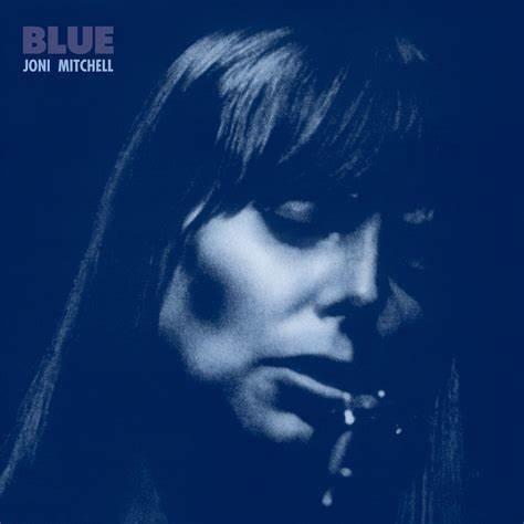 Joni Mitchell Blue portada