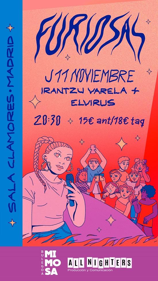 Furiosas Club 2021 cartel