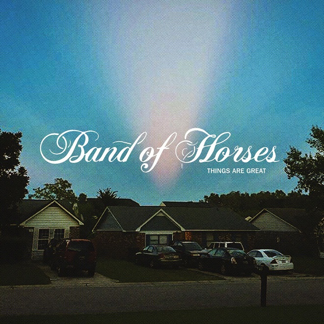Band of Horses Things Are Great portada