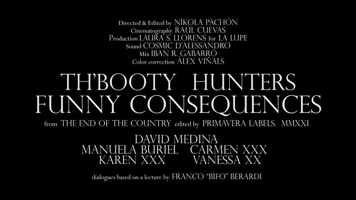 Booty Hunters créditos vídeo
