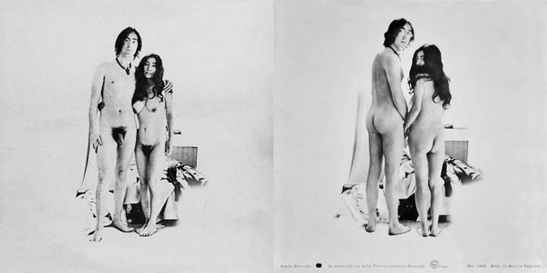 John Lennon Yoko Ono Two Virgins